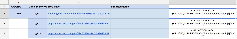 Telegram bot -- data request --> web site